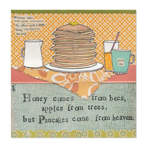 Pancakes Canvas