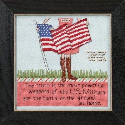 Brave Hearts Cross Stitch Kit