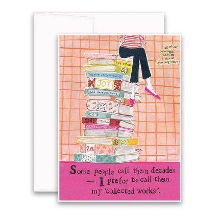 Collected Works Greeting Card