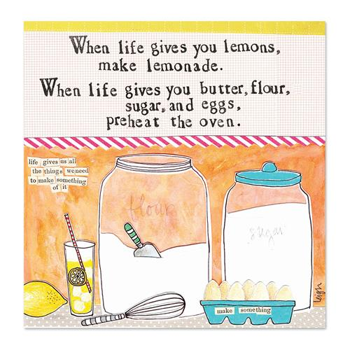 Make Lemonade Canvas