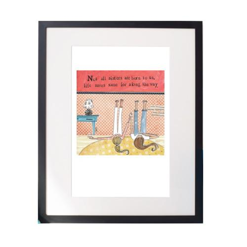 Soul Sisters Matted Print