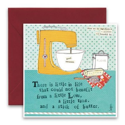 Stick of Butter Greeting Card