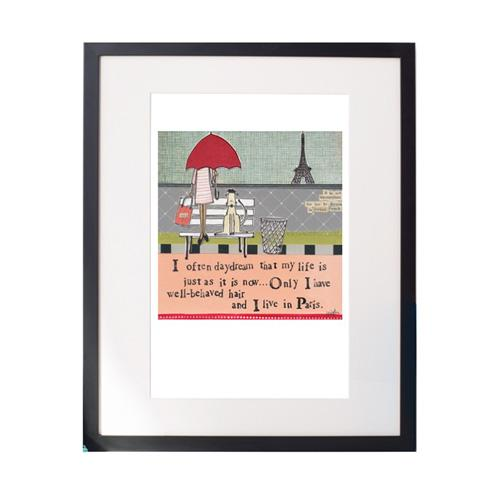 Paris Matted Print