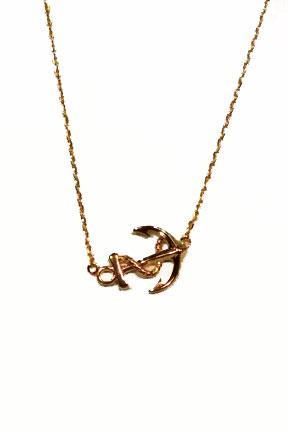 Anchor Necklace Card