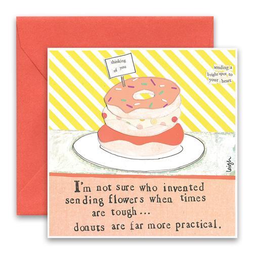 Donuts Greeting Card