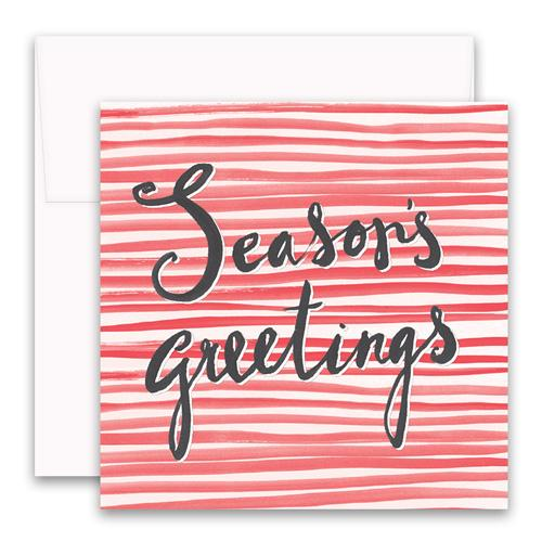 Seasons Greetings Enclosure Card