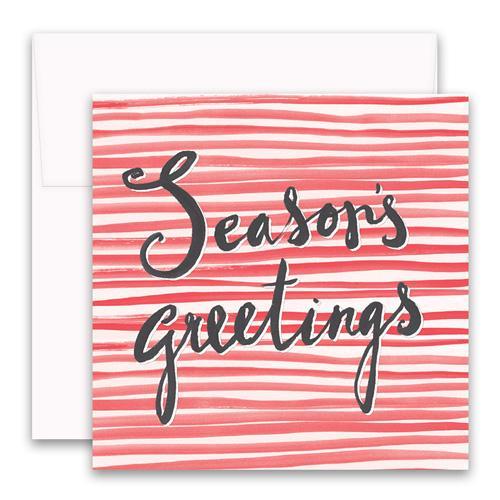 Seasons Greetings Enclosure Card