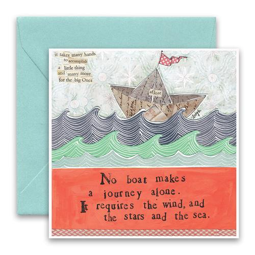 Stars & The Sea Greeting Card