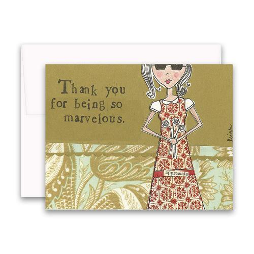 Marvelous Thank You Box Of 6