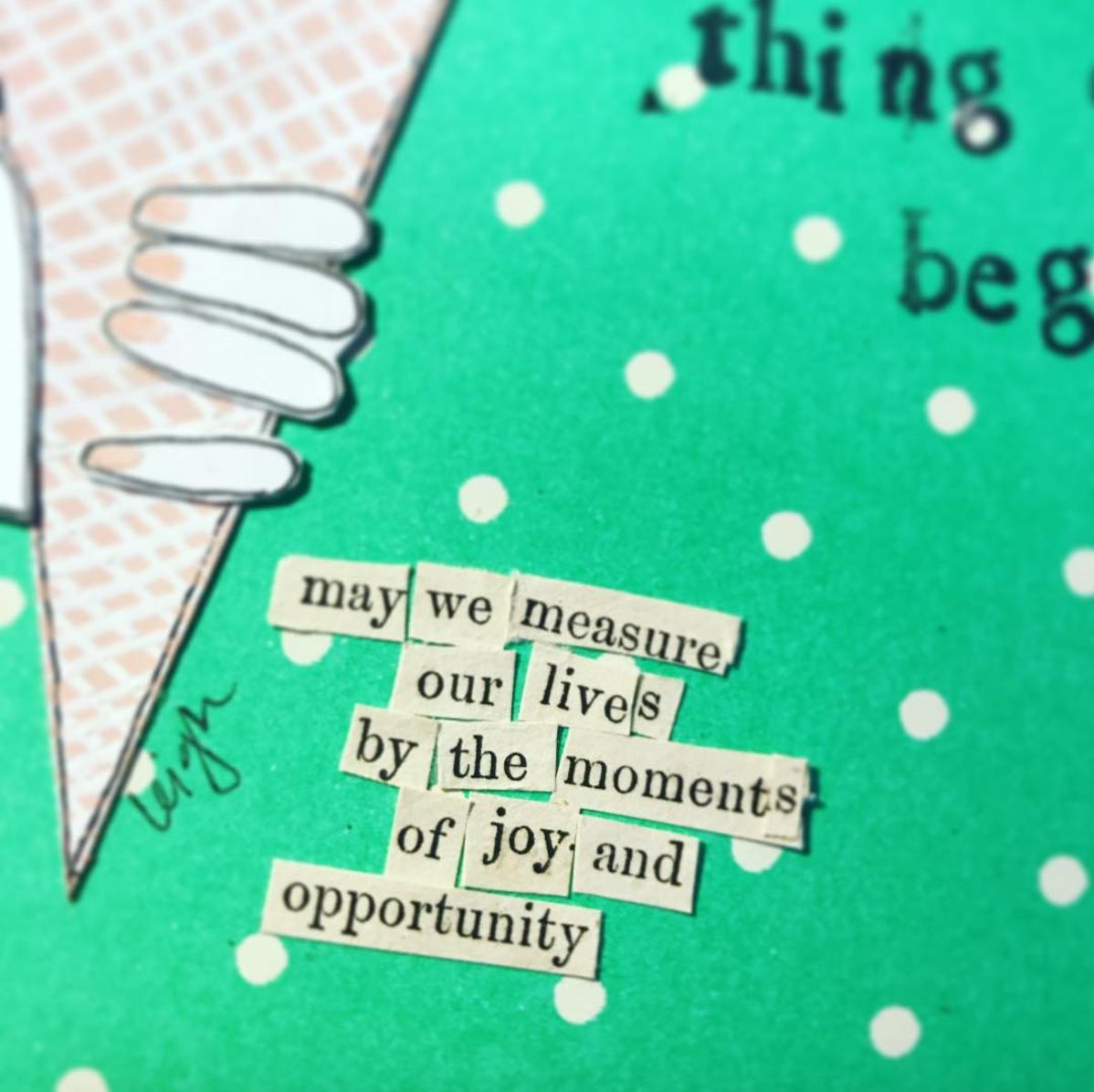 Wonderful Things Greeting Card