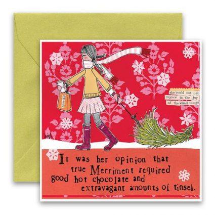 True Merriment Holiday Card