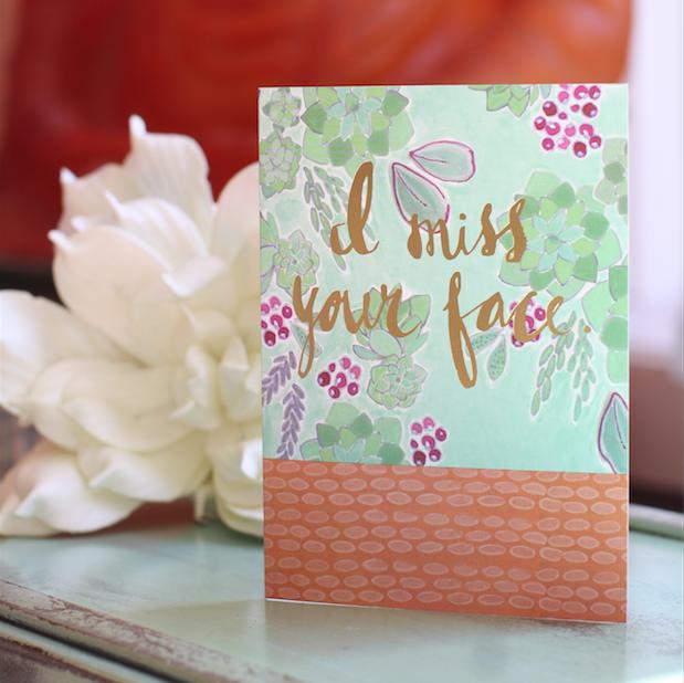 Fancy Pants Greeting Card Card (Freshly Painted)