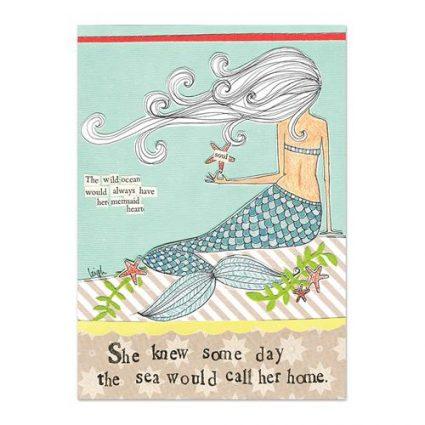Mermaid Mini Canvas