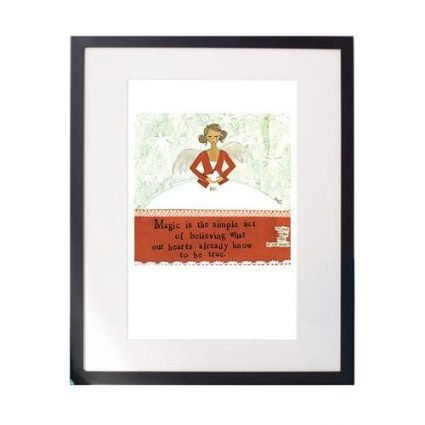 Simple Act Matted Print