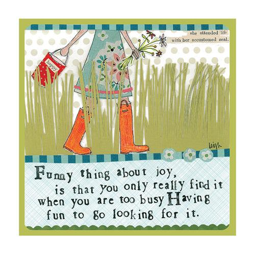 Funny Thing About Joy Journal
