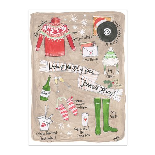 Favorite Things Canvas