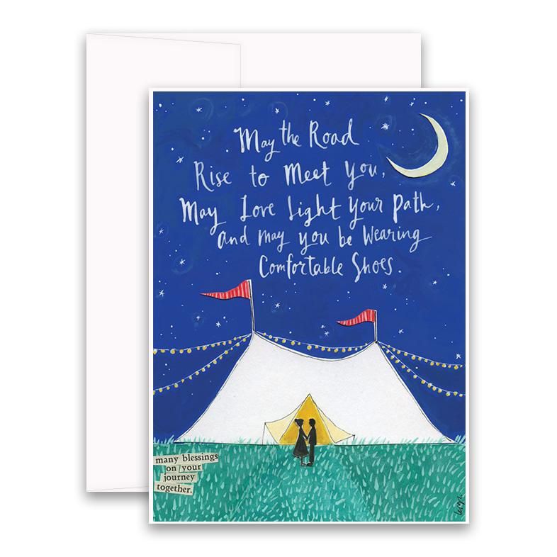 Light Your Path Greeting Card