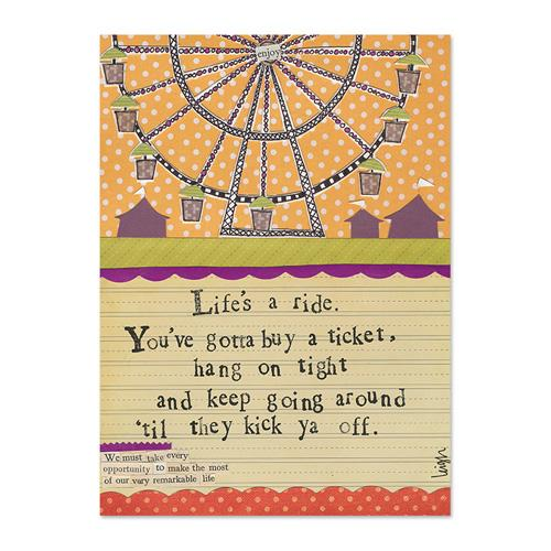 Life's A Ride Canvas