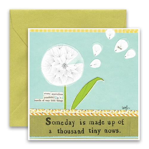 Tiny Nows Greeting Card
