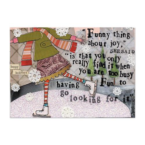 Funny Joy (Holiday) Canvas