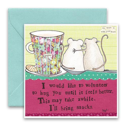 Hug You Greeting Card