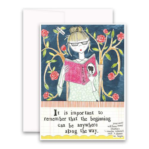 Beginning Greeting Card