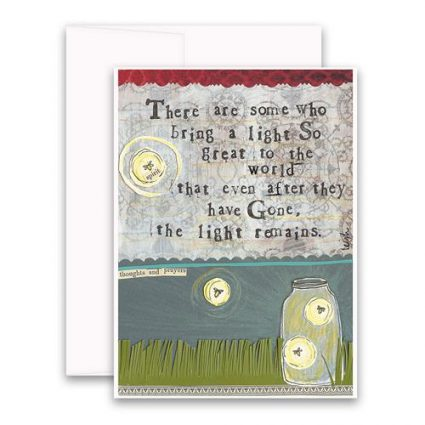 Light Remains Greeting Card