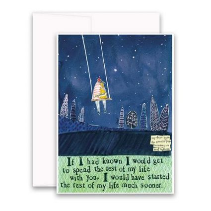 If I Had Known Greeting Card