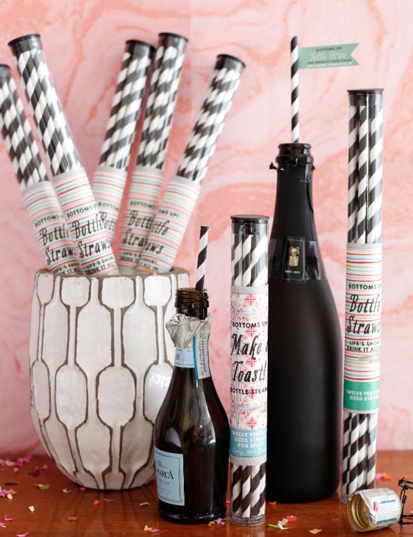Split Wine Straw Pack