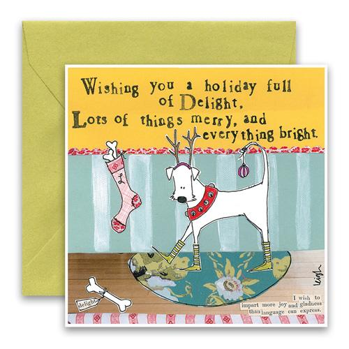 Everything Bright Holiday Card