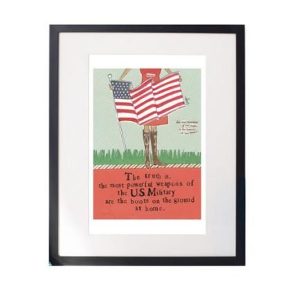 Brave Hearts Matted Print