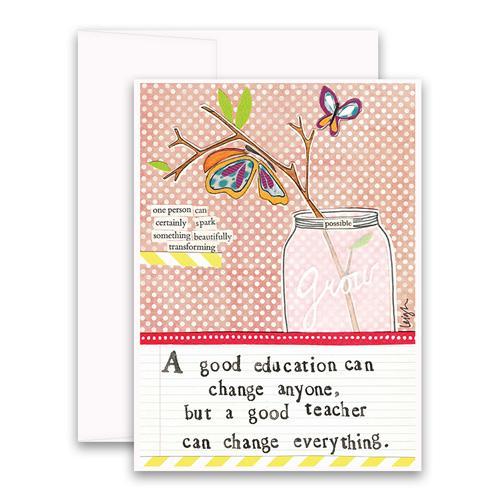 Good Teacher Greeting Card