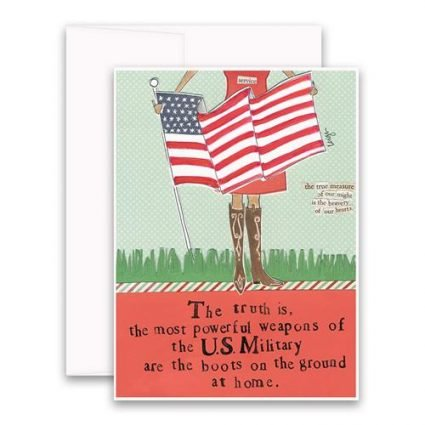 Brave Hearts Greeting Card