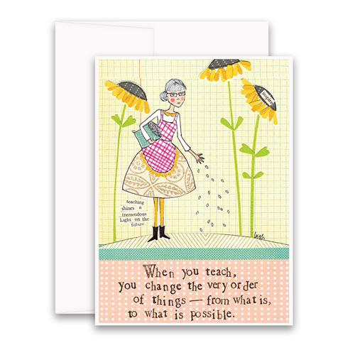 Teach Greeting Card