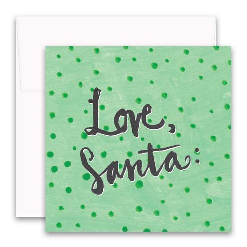 Love Santa Enclosure Card