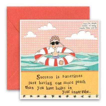 Innertube Greeting Card