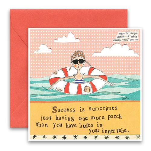 Innertube Greeting Card