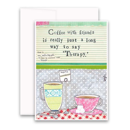 Coffee Greeting Card
