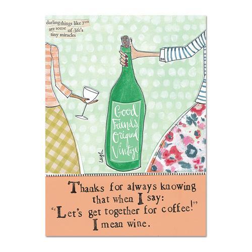 Mean Wine Magnet