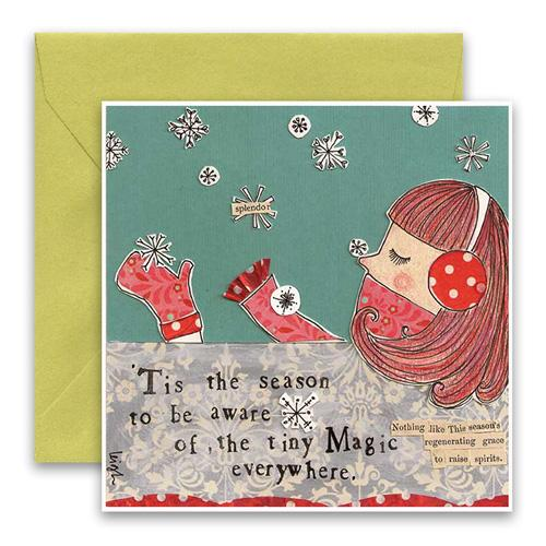 Tiny Magic Holiday Card