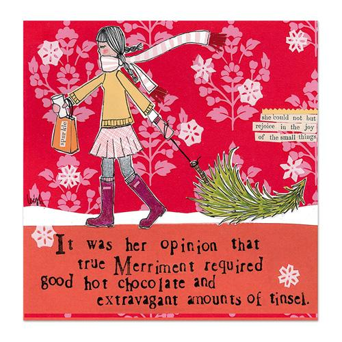 True Merriment Canvas