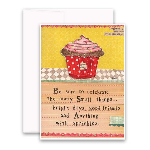 Anything with Sprinkles Greeting Card
