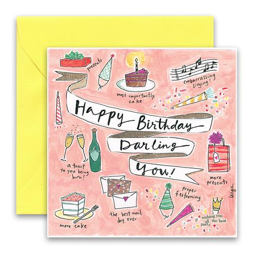 Darling You Greeting Card