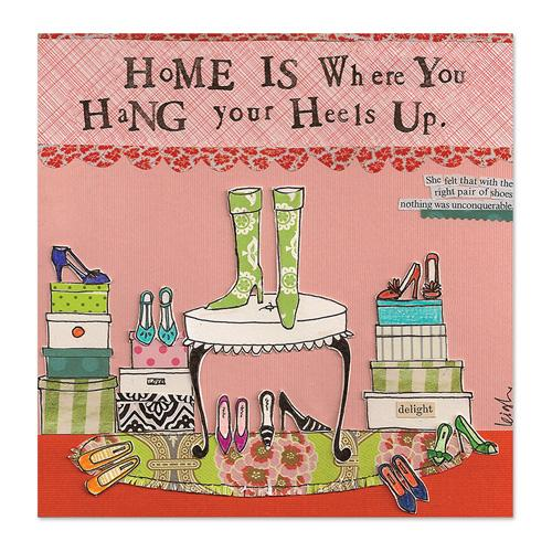 Hang Your Heels Canvas