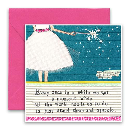 Sparkle Greeting Card