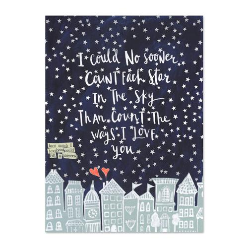 Count All The Stars Canvas