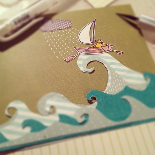 Better Boat Greeting Card