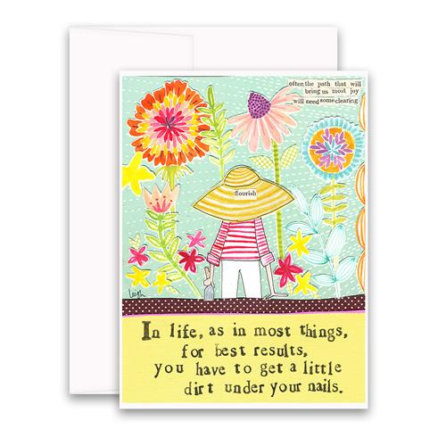 Little Dirt Greeting Card
