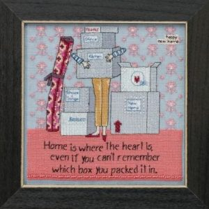 Where The Heart Is Cross Stitch Kit