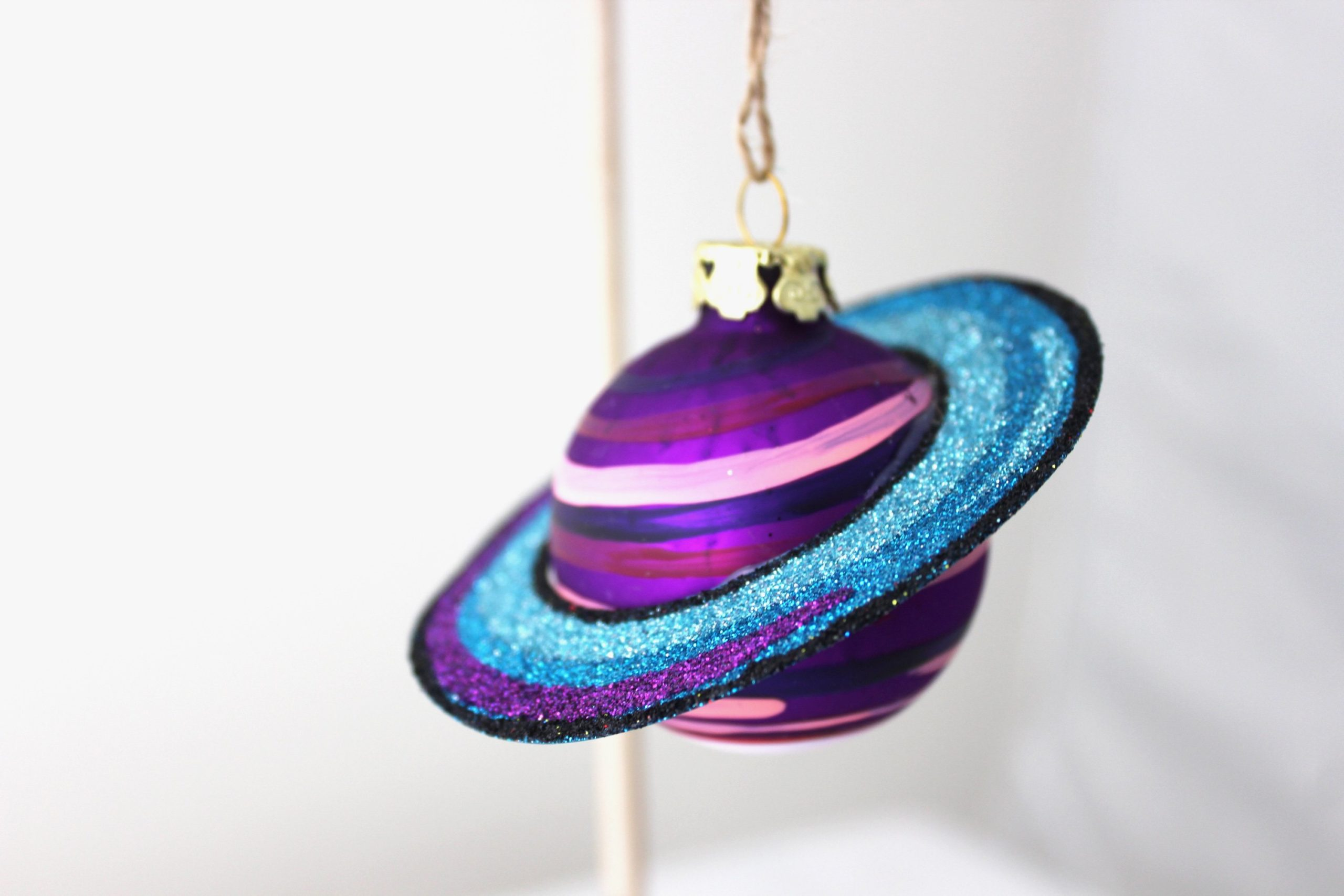 Planets in Alignment Ornament (Purple) SALE Half Off Holiday